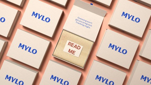 Brand strategy, naming, visual & verbal identity for Mylo