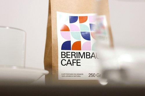Visual identity for Berimbau Cafe