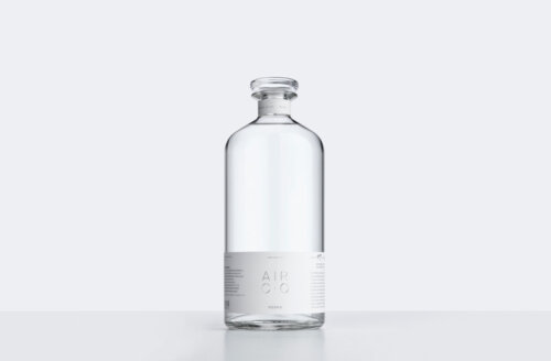 Visual identity for the first carbon negative, sustainable vodka