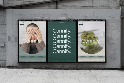 A simple, yet distinctive visual identity system for Cannify