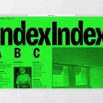 Visual Identity, website design & development for Index Gallery