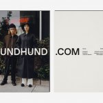 A new visual identity and art direction + a new webshop for Berlin based fashion label HUNDHUND