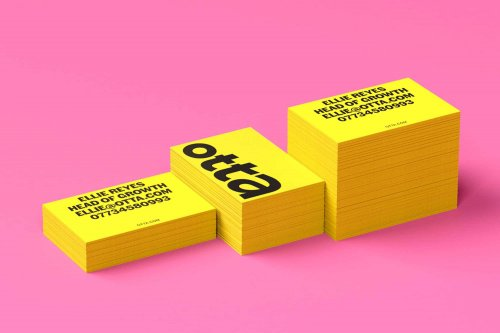Full rebrand and launch campaign for Otta