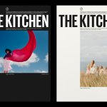 The Kitchen's visual identity