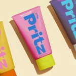 A colorful brand identity for for sunscreen PritZ