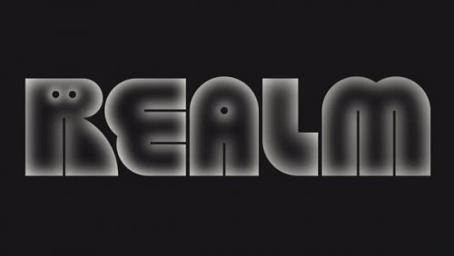 Visual identity for a fiction podcast brand Realm