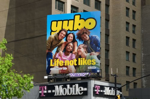 Positive and 'anti-boring' identity for Yubo, a video live-streaming app for teens