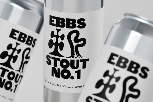 Identity for craft beer brewery EBBS