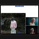 New identity and website for a Wellington-based photographer Steven Boniface (Boniface)