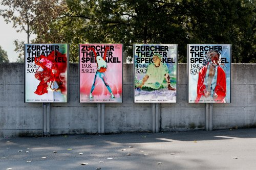 Psychedelic campaign for one of Europe's largest arts festivals